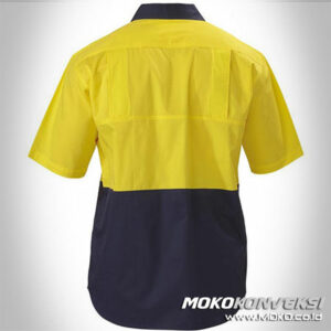 wearpack montir - kemeja safety