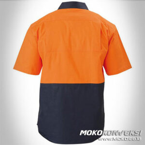 safety wearpack - baju wearpack pendek