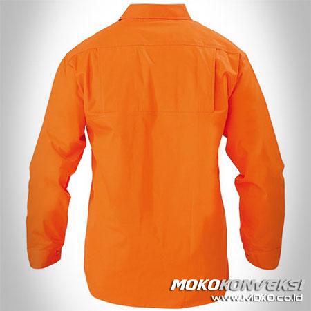 Harga Baju Kerja Wearpack Pemadam Kebakaran Atasan Warna Orange Polos