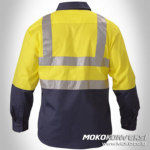 baju las - seragam safety officer