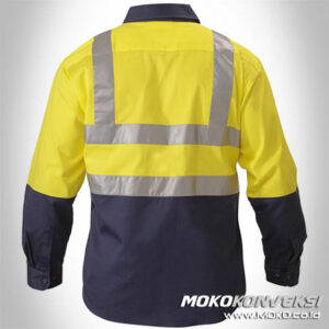 Jual Wearpack Safety Plus Scotlight Desain Wearpack Warna Kuning Biru Dongker / Navy