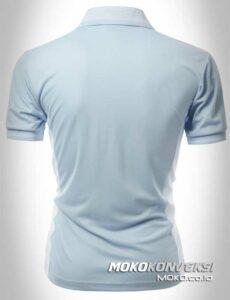 jual polo shirt custom warna biru moko konveksi
