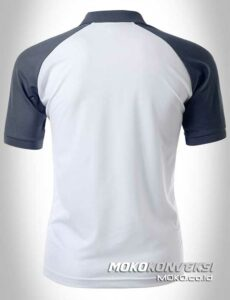 polo shirt bordir polo shirt raglan warna navy putih moko konveksi