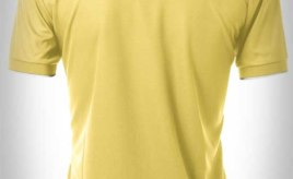 harga kaos kerah terbaru polo shirt zipper warna kuning putih moko konveksi