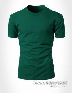 grosir kaos keren warna hijau - moko konveksi supplier kaos polos grosir