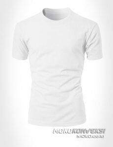 jual kaos polos warna putih moko konveksi - konveksi baju kaos polos