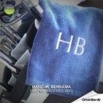 handuk bernama Bogor - harga souvenir online Bogor