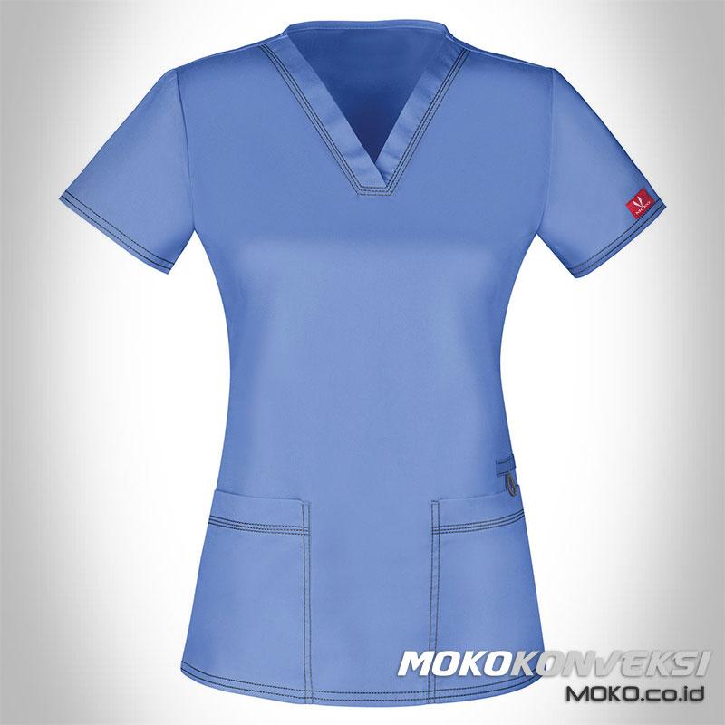 model baju dokter wanita | model seragam perawat modern