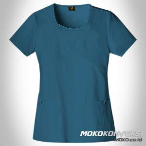 contoh baju perawat perempuan | model baju perawat korea