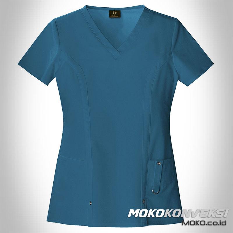model baju rumah sakit | model baju dinas bidan terbaru