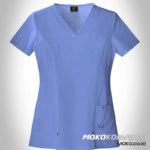 Baju Perawat Putih Kota Salatiga - desain seragam perawat
