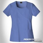Model Baju Dinas Putih Bidan Bangka - Jual Seragam Perawat Bangka