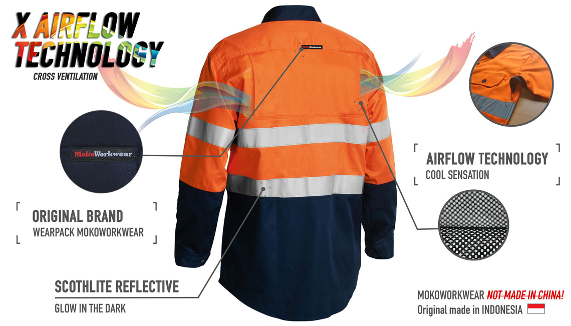 Beli Baju Wearpack Engineering - Baju Safety Wearpack - Agen Pakaian Safety SMK